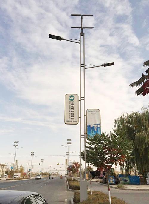 市、县级道路建设路灯